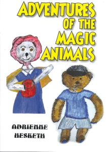 Adrienne Hesketh story book cover: Adventures of the Magic Anima