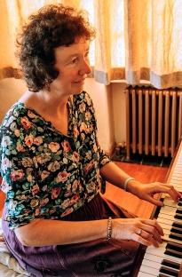 ADRIENNE Hesketh piano playing Collaton Fishacre