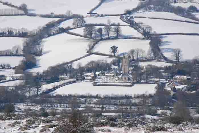 Widecombe Snow, photo by Robert Hesketh
