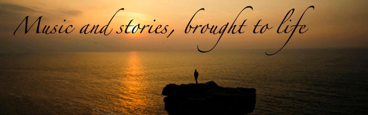 Adrienne Hesketh, Devon music and stories, web banner-